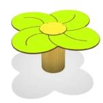 36 Stol Cvijet