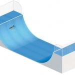 Skate-rampa-Midi-ramp