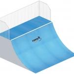 Skate-rampa-Quarterpipe
